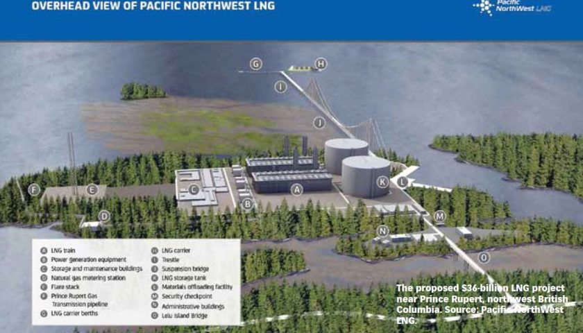 Liberals approve $11.4 billion Pacific NorthWest LNG Project Approved