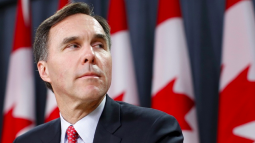 Morneau under fire from opponents over conflict of interest allegations