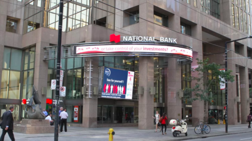 National Bank reports fourth-quarter profit up from year ago, raises dividend