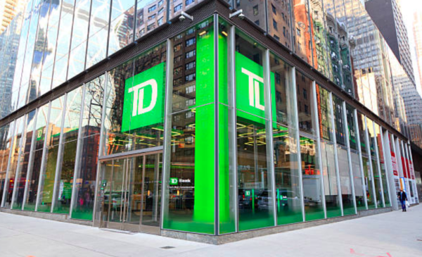 TD expects Q1 earnings to be cut by US$400 million due to U.S. tax change