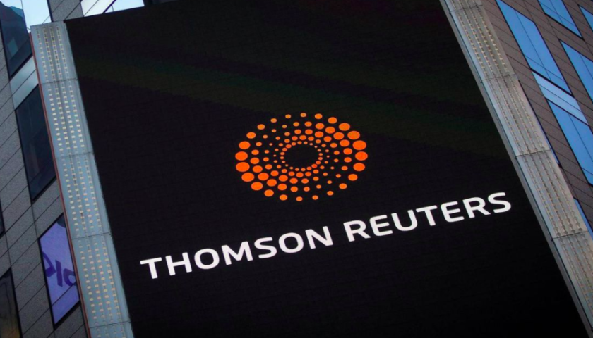 Thomson Reuters in talks with Blackstone regarding potential partnership