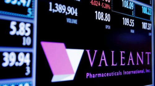 Valeant Pharmaceuticals shares trading higher after $930M sale iNova business