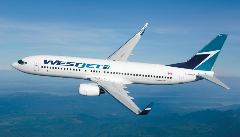 WestJet reports first-quarter profit falls from year ago mark, revenue up