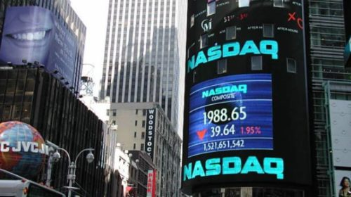 S&P/TSX composite down as Nasdaq loses 10 per cent over three days
