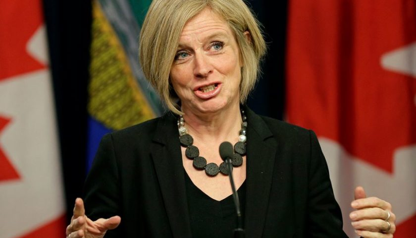Notley says unfair to assess Energy East on downstream environmental impact
