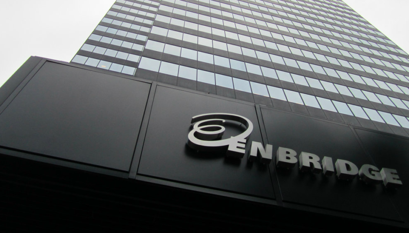Enbridge, TransCanada shares recover from steep dive following U.S. tax ruling