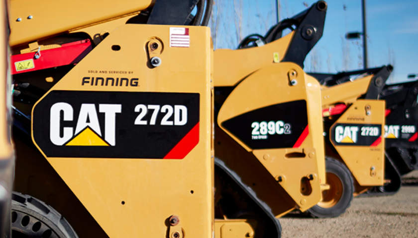 Finning's Q2 above estimates on higher equipment sales and product support