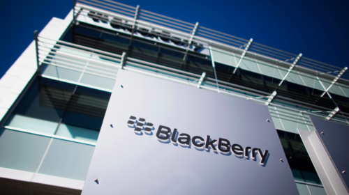 BlackBerry reports second-quarter loss, revenue up from year ago