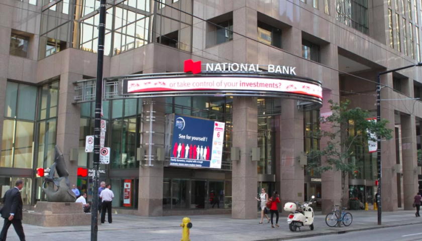 National Bank reports third-quarter profit up 10 per cent from year ago
