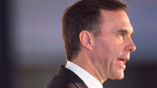 Morneau still committed to deficit reduction despite slower economy