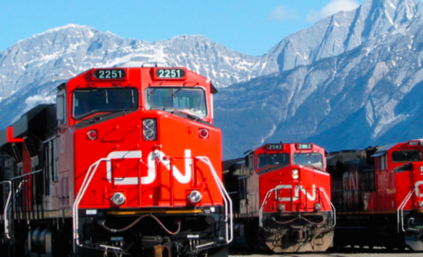 Oil and container traffic pushes CN Rail to record revenues of nearly $4 billion