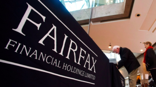 Fairfax Financial reports net income drop as investments underperform