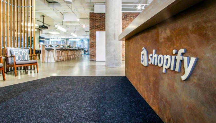 Shopify shares slip after Adobe Systems buys e-commerce rival Magento