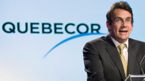 Peladeau says Quebecor has $2 billion available for networks, stock buybacks