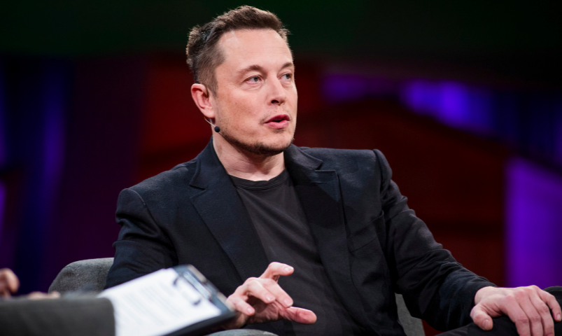 Musk tweets he may take Tesla private and shares roar