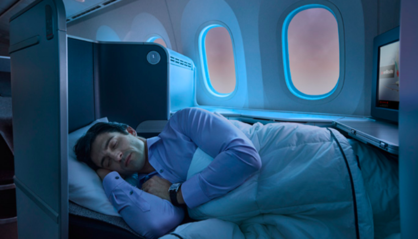 Air Canada to offer lie-flat seats on some North American flights