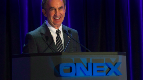 Onex reports US$158-million first-quarter loss, raises quarterly dividend