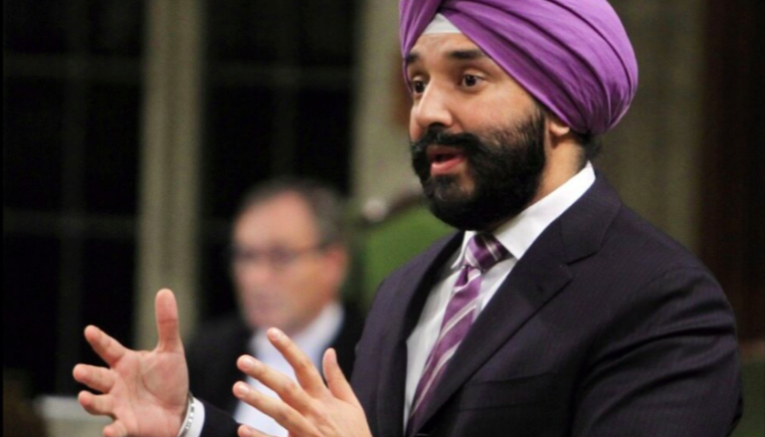 Bains announces 26 7 million investment in space for Navdeep s bains