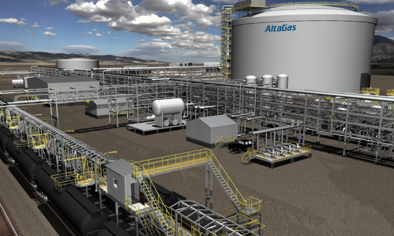 Propane shipments and asset sales impact AltaGas third-quarter results
