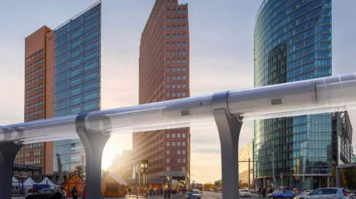 Canadian hyperloop company says governments need to support innovation