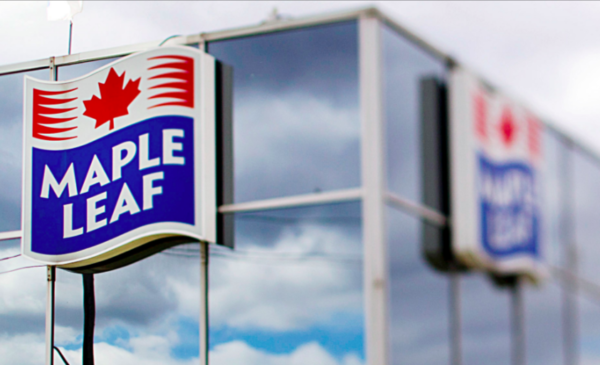 Maple Leaf Foods reports third quarter profit and sales up from year ago