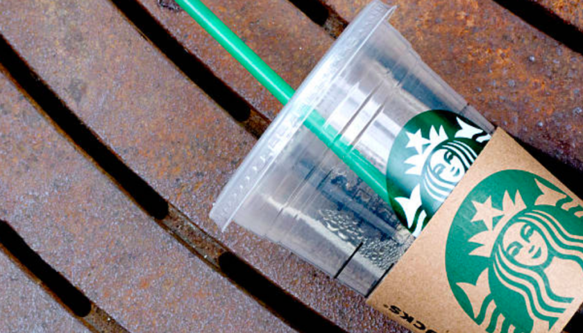 Starbucks, citing ocean threat, is ditching plastic straws from all locations