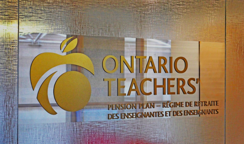 Ontario Teachers' Pension Plan earned 3.2 per cent in first half of 2018