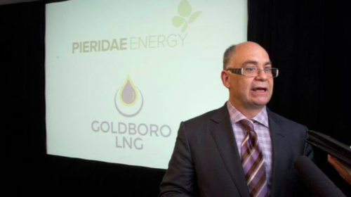 Pieridae Energy says engineering company seeking exit from Goldboro LNG deal