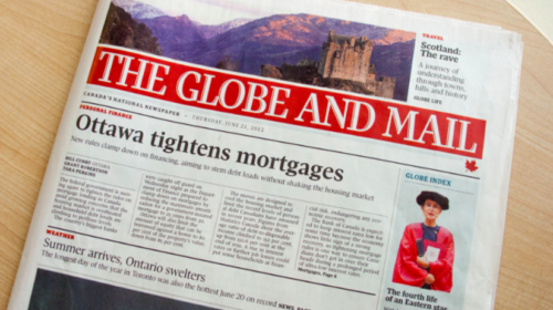 Globe and Mail workers could be off the job by midnight Wednesday: union