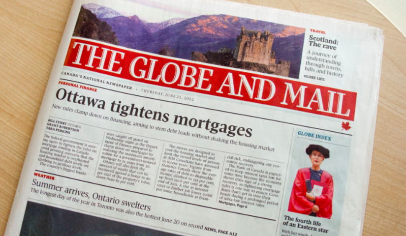 Globe and Mail offers voluntary buyouts in effort to save $10M annually