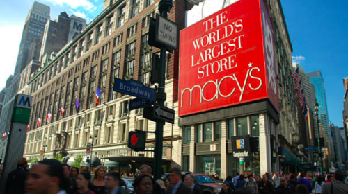 Strong fourth quarter for Macy's heading to transition year