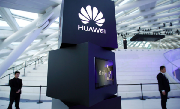China's Huawei says 1Q sales up 39%