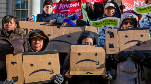 Amazon,  in stunning reversal, dumps NYC as new HQ site