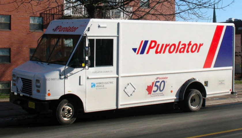 Weekend fire destroys Purolator courier terminal in northern New Brunswick