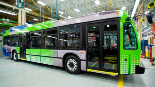 Report calls for increase in electric buses as manufacturing footprint grows