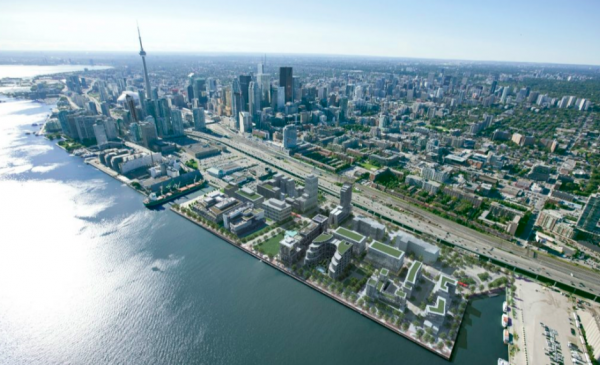 Sidewalk releases grand vision for controversial Toronto development