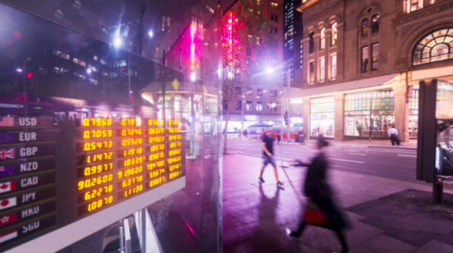 Asian shares decline following lacklustre day on Wall Street