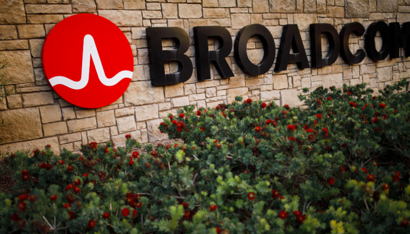 Broadcom shares fall as chipmaker warns on trade war impact