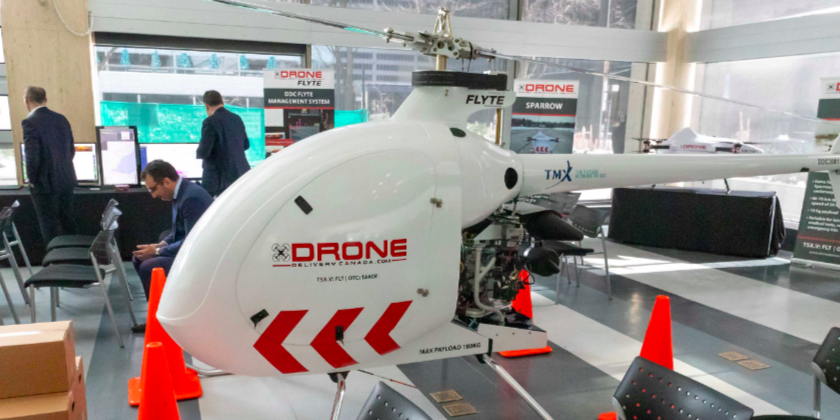 Air Canada signs deal with Drone Delivery Canada to market and sell services