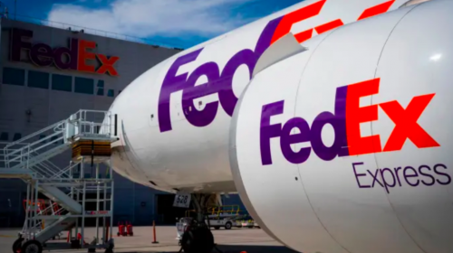 FedEx will stop air shipments of packages for Amazon
