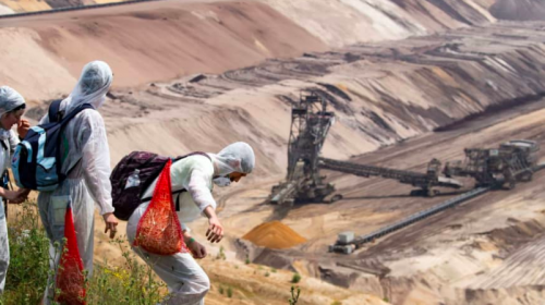 Climate activists end their blockade of German coal mine