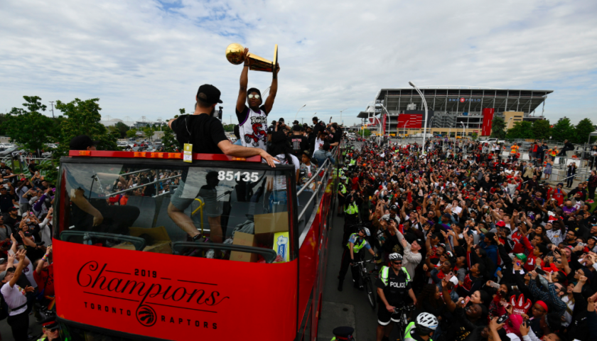 The corporate winners and losers from the Toronto Raptors' historic win