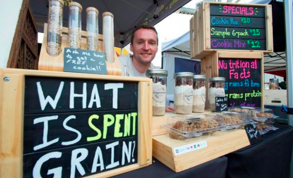 Entrepreneurs turning beer byproduct into bread, cookies and profits