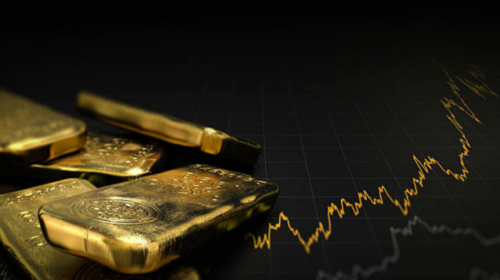 Higher gold prices help TSX to move higher and offset latest recession warning