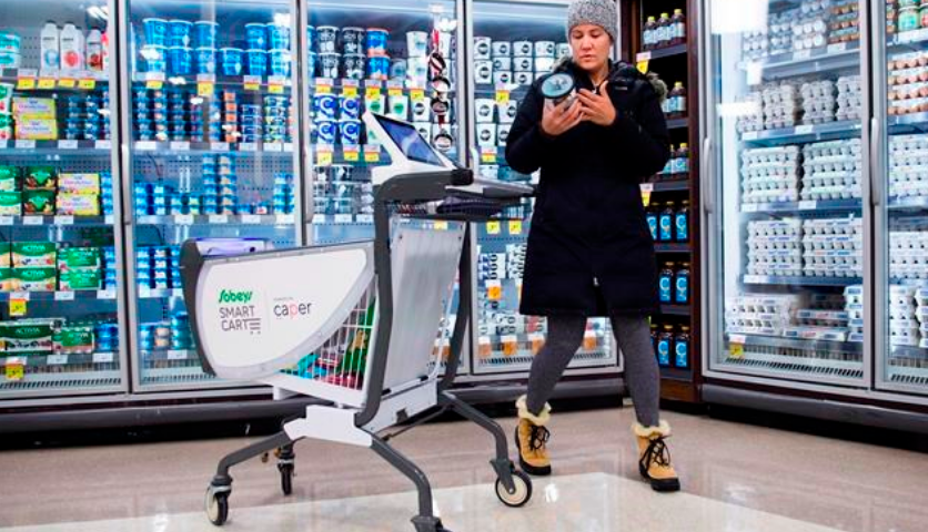 Beyond self-checkouts: Carts, apps look to make grocery shopping hassle-free