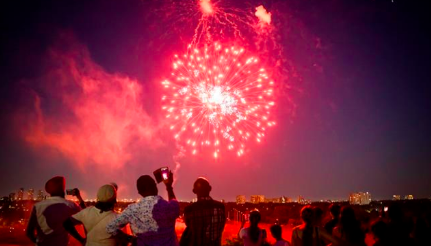 Surge in sales ahead of Canada Day helping fireworks companies in difficult year