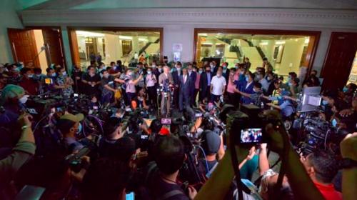 Malaysian ex-PM Najib given 12 years in jail in 1MDB scandal