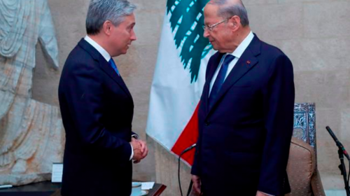 Champagne pushes reform in Beirut meeting with Lebanese president