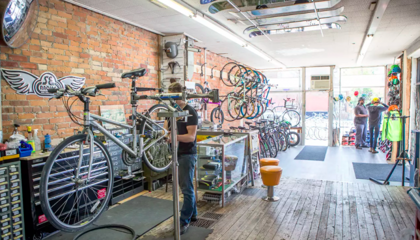 'Like riding a bike': Pandemic, commuting and the art of bicycle repair