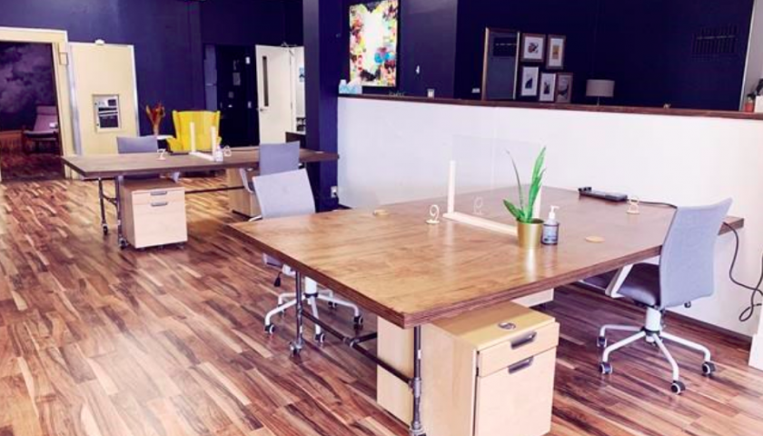 Co-working companies adjust to running shared workspaces in a pandemic